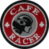 2043 Embroidered patch 7x7 CAFE RACER