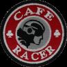 2043 Patch écusson brodé 7x7 CAFE RACER