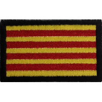 2044 Embroidered patch 6x3,7 CATALUNHA