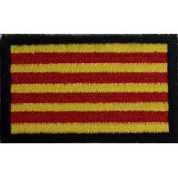 2044 Patch emblema bordado 6x3,7 CATALUNHA