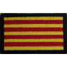 2044 Patch emblema bordado 6x3,7 CATALUNHA