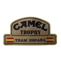 0342 Embroidered patch 26x14 CAMEL TROPHY Team Spain