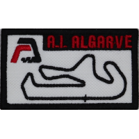 2048 Embroidered patch 7x4 A. I. ALGARVE