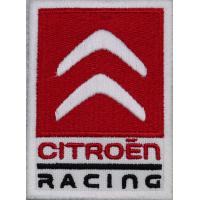 2049 Patch emblema bordado 8x6 CITROEN RACING