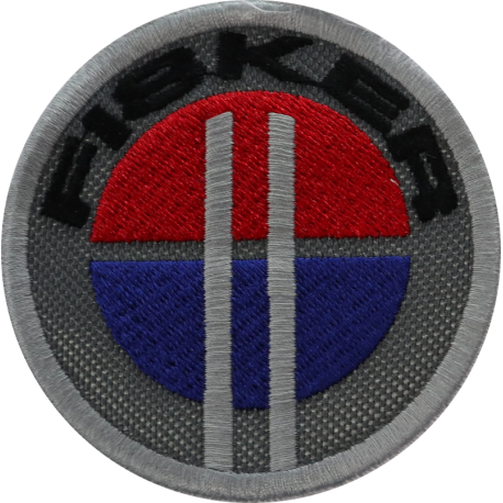 2051 Embroidered patch 7x7 FISKER