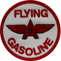 2052 Embroidered patch 7x7 FLYING GASOLINE