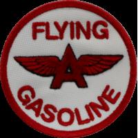 2052 Patch écusson brodé 7x7 FLYING GASOLINE