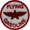2052 Patch emblema bordado 7x7 FLYING GASOLINE
