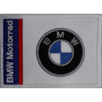 2045 Embroidered patch 8x6 BMW MOTORRAD