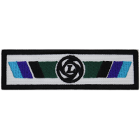 2067 Patch emblema bordado 11X3 LEYLAND