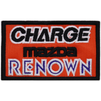 2068 Embroidered patch 10x6 MAZDA SPEED