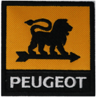 2072 Embroidered patch 7x7 PEUGEOT 1936
