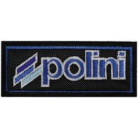 2074 Embroidered patch 10x4 POLINI