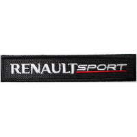 2079 Embroidered patch 11x2 RENAULT SPORT