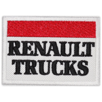 2080 Embroidered patch 7x5 RENAULT TRUCKS
