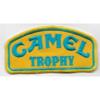 0041 Embroidered patch 10x5 CAMEL TROPHY