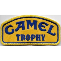 2087 Embroidered patch 10x5 CAMEL TROPHY