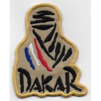 0849 Patch emblema bordado 8x6,5 Touareg Paris DAKAR FRANÇA