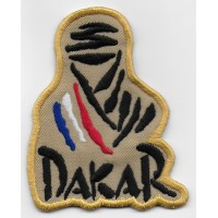 0849 Embroidered patch 8x6,5 Touareg Paris DAKAR FRANCE