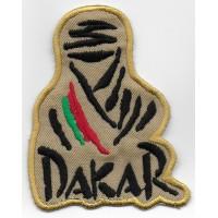 0847 Patch emblema bordado 8x6,5 Touareg Paris DAKAR PORTUGAL