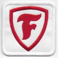 0299 Patch emblema bordado 6X6 FIRESTONE