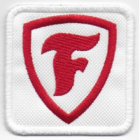 Embroidered patch 6X6 FIRESTONE