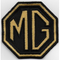 0451 Embroidered patch 8x8 MG MOTOR MORRIS GARAGES