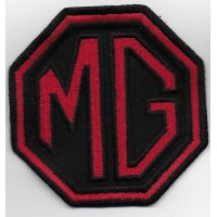 0450 Embroidered patch 8x8 MG MOTOR MORRIS GARAGES