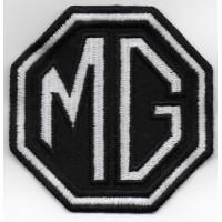 0452 Patch emblema bordado 8x8 MG MOTOR MORRIS GARAGES