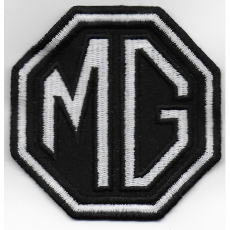 Embroidered patch 8x8 MG MOTOR