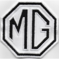 2094 Embroidered patch 8x8 MG MOTOR MORRIS GARAGES