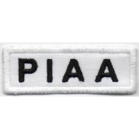 0263 Embroidered patch 7X2,5 PIAA