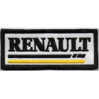 1294 Patch emblema bordado 10x4 RENAULT SPORT