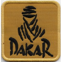 2100 Embroidered patch 7x7 DAKAR