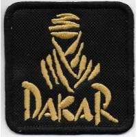 2101 Embroidered patch 7x7 DAKAR