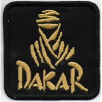 2101 Embroidered patch 7x7 DAKAR