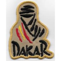 0848 Patch emblema bordado 8x6,5 Touareg Paris DAKAR ESPANHA