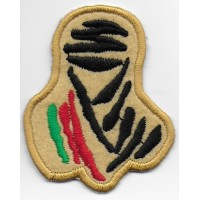2102 Embroidered patch 5x6,5 Touareg Paris DAKAR