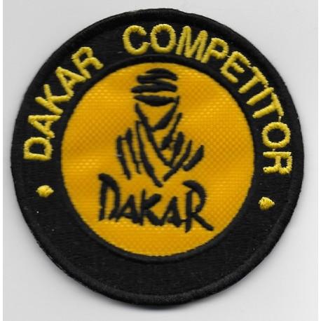 2100 Embroidered patch 7x7 DAKAR