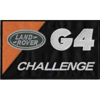 Patch écusson brodé 22x14 CHALLENGE G4 LAND ROVER