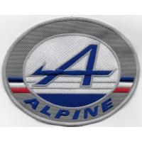 2115 Patch emblema bordado 14X10 RENAULT ALPINE