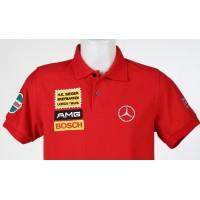1621 polo shirt MERCEDES AMG 300 SEL 6.8 RED PIG Premium Quality