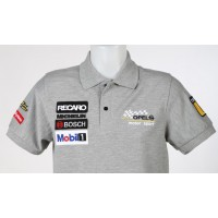 1624 Polo shirt OPEL MOTORSPORT TEAM JOEST M. REUTER WINNER ITCC 1996 Premium Quality