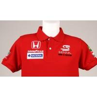 0992 Polo AYRTON SENNA MCLAREN HONDA F1 TEAM Premium Quality