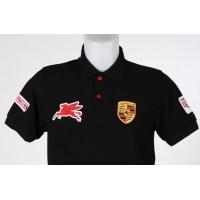 1618 polo shirt PORSCHE CLASSIC PEGASUS TAG HEUER Premium Quality