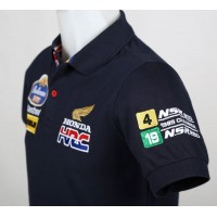 1865 polo shirt FREDDIE SPENCER ROTHMANS HONDA HRC 250CC 500CC 1985 MOTO GP CHAMPION Premium Quality