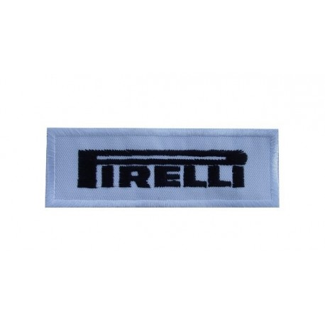 Embroidered patch 8X3 PIRELLI