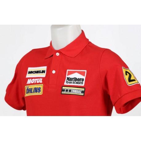 1904 polo shirt YAMAHA MARLBORO TEAM ROBERTS WAYNE RAINEY MOTO GP CHAMPION Premium Quality