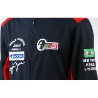 1875 casaco AYRTON SENNA tri campeão do mundo de F1 nacional brasil