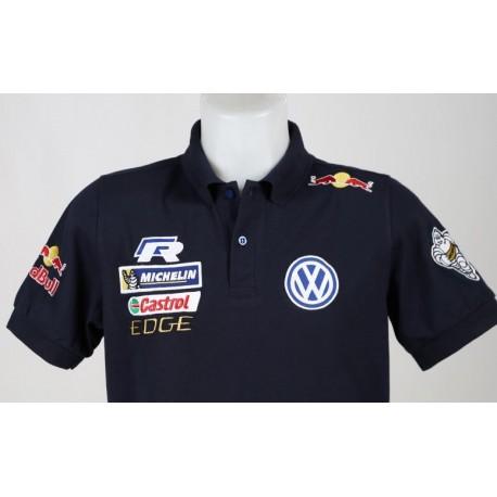 1864 polo VW VOLKSWAGEN MOTORSPORT WRC TEAM RED BULL Premium Quality